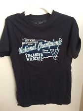 Villanova Wildcats 2016 Mens Basketball Champions Ncaa T Shirt Adult Small