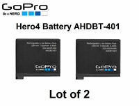 Genuine Original OEM AHDBT-401 1160mAh 4.4Wh Battery for GoPro HERO4 (Pair of 2)