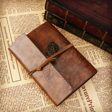 Classic Retro Vintage Style Leather Journal Travel Notepad Notebook Diary