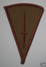 OFFICIAL COMMANDO DAGGER COYOTE TAN QUALIFICATION BADGE