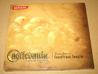 Castlevania Curse of Darkness limited Edition Soundtrack Sampler New & Sealed