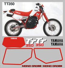 Adesivi Yamaha TT 350  1998 cristal - adesivi/adhesives/stickers/decal