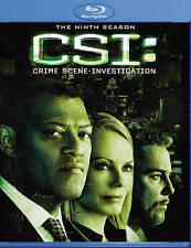 CSI: Las Vegas The Ninth 9 Season Blu-ray Sealed 6-Disc set New Fishburne