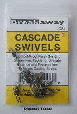 Breakaway Cascade Swivels, Rig Components, Sea Fishing