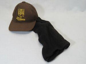 UPS Racing Fairway Wood Headcover Head Cover Black/Brown