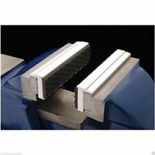 """4 1/2"""" Aluminum Magnetic Soft Jaw Pipe Pads for Metal Vise Attachment Padded"""