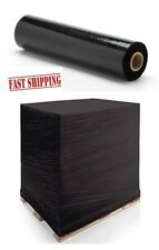 LARGE STRONG QUALITY BLACK PALLET STRETCH WRAP 500mm 300m shrink