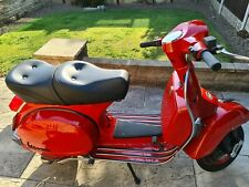 2006 vespa px125 fully re built powder coated 180 kit fitted carb very low miles