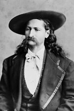 "New 5x7 Photo: James Butler ""Wild Bill"" Hickok, Folk Hero of American Old West"