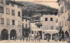 9251) DICOMANO (FIRENZE) PIAZZA BUONAMICI AFFOLLATA, FERRO CHINA BISLERI ANIMATA