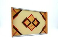 RARE AVANTGARDE GERMAN SUPREMATISM BAUHAUS GEOMETRIC CUBIST TRAY ART DECO 1930