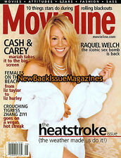 Movieline 8/01,Mariah Carey,August 2001,NEW