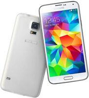 Samsung Galaxy S5 SM-G900A G900A 4G LTE 16GB White GSM Unlocked Smartphone FRB