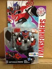 Robots In Disguise Clash of the Transformers Warrior Class Optimus Prime TRU Ex