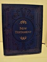 New Testament Heirloom Edition Hardcover – December 26, 2014- NEW IN BOX- LDS