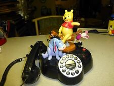 Disney Pooh and Friends Animated Phone, Tested, Htf