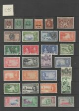 Lot CY5: Cayman Islands early mint stamp selection mm & um
