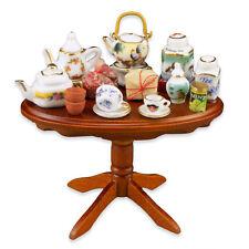 Reutter Porzellan Tisch Teatime / Tea Tasting Table Puppenstube 1:12 Art 1.821/7
