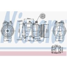 Nissens Kompressor, Klimaanlage Land Rover Discovery Ii,Range Rover II 89186