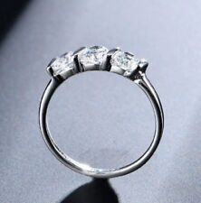 Cubic Zirconia Silver Plated unsizable Costume Rings