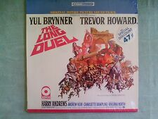 THE LONG DUEL Soundtrack LP - 1967 ATCO Orig. STEREO In original shrink wrap