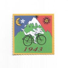 Pappemagnet Bicycle Day 1943 Albert Hofmann LSD Vintage Magnet