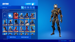 NEW FORTNlTE ACC 70+ SKINS RARE ITEMS PC/XBOX/NINTENDO SWITCH COMPATIBLE