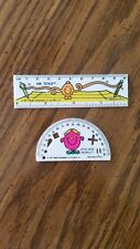 VTG ARBY'S TOY RULERS LITTLE MISS HELPFUL AND MR.TICKLE 1985