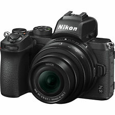 New Nikon Z50 16-50mm F3.5-6.3 VR Zoom Lens DX 4K UHD Mirrorless Digital Camera