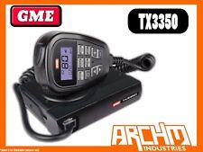 GME TX3350 UHF CB RADIO- 80CH 5 WATT COMPACT LCD SOUNDPATH SPEAKER MICROPHONE