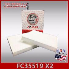 FC35519(X2) 24815 CABIN AIR FILTER: ACURA CSX ILX MDX RDX RL TL TSX ZDX & HONDA