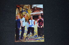 A1 (BOYBAND) signed autograph In Person 5x7 (13x18 cm) BENJAMIN, MARK , PAUL...