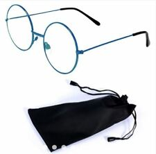 Round Style Harry Potter Inspired Eye Glasses with Pouch - BLUE