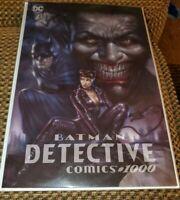 DETECTIVE COMICS #1000 PARRILLO VIRGIN VARIANT DC COMICS BATMAN JOKER CATWOMAN