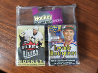 Legends LP N.H.L. hockey 6 factory packs sealed in a blister pack: see pictures