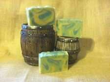 Island Escape Soap. Goats Milk, Shea Butter & Colloidal Oatmeal. Full Size Bar.