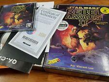 PC Rebel assault II primera edición española completo