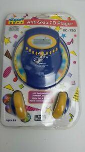 New Vintage NIP Street Beat KC-720 Personal CD Player Discman + Headphones