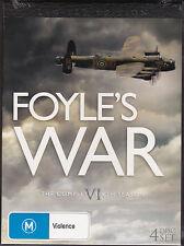 Foyle's War - The Complete Sixth Season - DVD (Region 4 4xDVD Brand New Sealed)