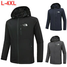 Full zip jacket outdoor hooded jacket casual spring and autumn soft shell men's
