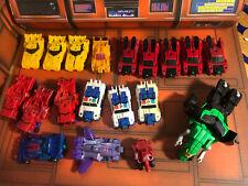 Transformers RID Combiner Force Lot Of 19-Optimus Prime-Sideswipe-Grimlock+ More