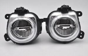 2x Error free LED Fog Light For BMW X3 X5 X6 F15 F16 F25 F26 F85 F86 2014-2018
