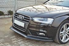 Audi A4 S4 8K B8 Facelift V2 Front Bumper Lip spoiler Cup Chin Valance Splitter
