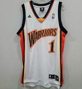 VTG Adidas Golden State Warriors Steven Jackson 1 We Believe Jersey Mens L Sewn