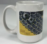 Star Trek The Next Generation USS Enterprise Coffee Cup Mug White