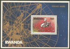 RWANDA Sc# 827 MNH FVF Souv Sheet Viking Lander Mars Space