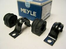 Pair MEYLE Front Anti Roll Bar Bushes & Clamps for VW Mk4 Golf SEAT Leon Audi A3