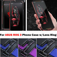 Metal Frame Phone Case Edge Protective Cover Shell with Lens Ring for ASUS ROG 3