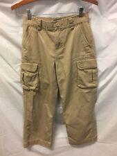 Polo Ralph Lauren Boys Khaki Cargo Pants Sz 10
