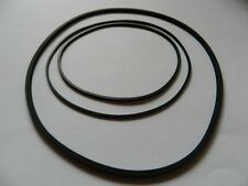 Vierkant Riemen Set passend für Philips N4506 Rubber drive belt kit